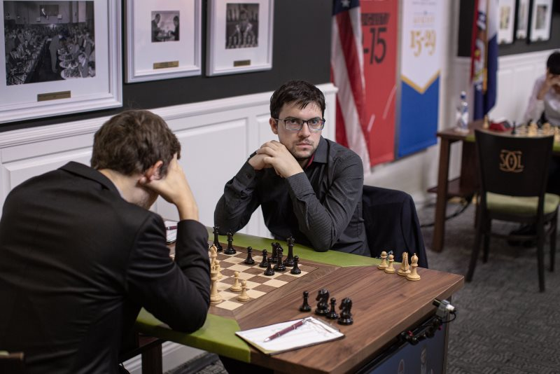 Sinquefield Cup 2019 ronde 8 Karjakin - Vachier-Lagrave