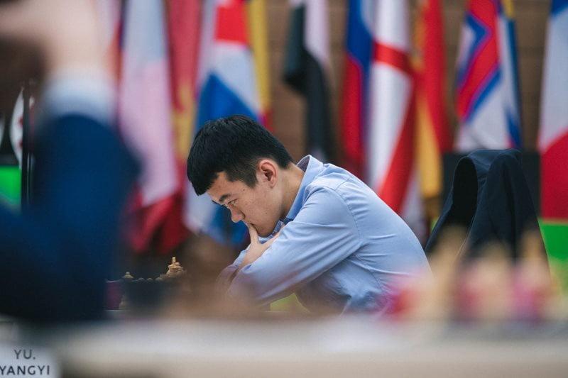 Coupe du Monde d'échecs FIDE 2019 demi-finales partie 1 Liren Ding