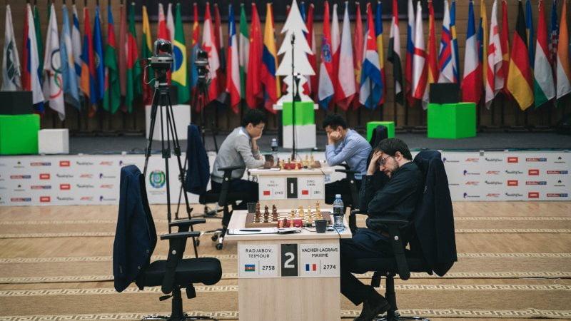 Coupe du Monde d'échecs FIDE 2019 demi finales