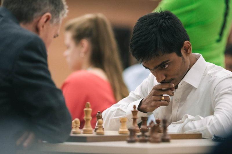 Coupe du Monde échecs FIDE 2019 ronde 1 départages