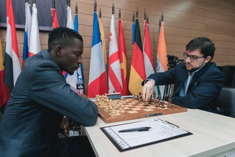 Coupe du Monde échecs FIDE 2019 ronde 1 Maxime Vachier-Lagrave