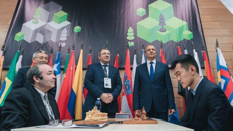 Coupe du Monde d'échecs FIDE 2019 ronde 1