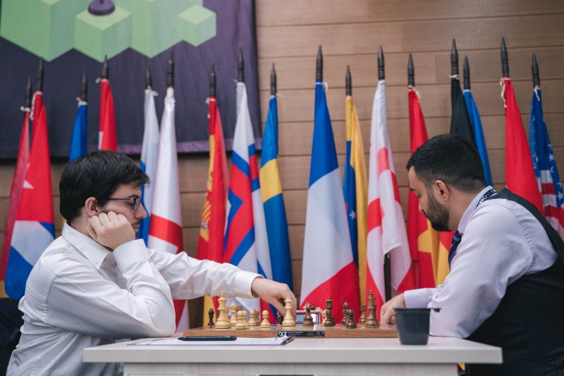 Coupe du Monde d'échecs FIDE 2019 ronde 2 Maxime Vachier-Lagrave