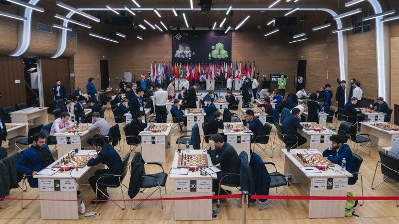 Coupe du Monde d'échecs FIDE 2019 ronde 2