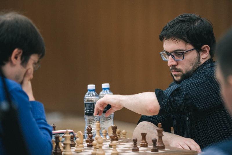 Coupe du monde d'échecs FIDE 2019 ronde 3 Départages Maxime Vachier-Lagrave