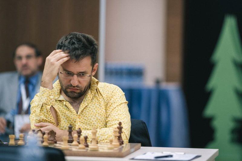 Coupe du Monde d'échecs FIDE 2019 ronde 3 Levon Aronian