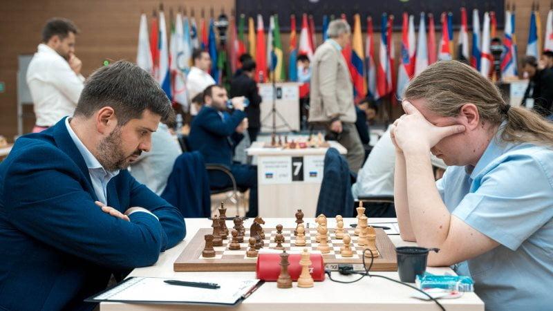 Coupe du Monde d'échecs FIDE 2019 ronde 3