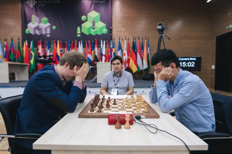 Coupe du Monde échecs FIDE 2019 ronde 4 départages