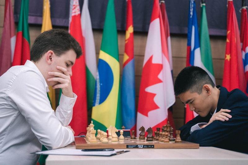 Coupe du monde échecs FIDE 2019 ronde 4 Duda-Xiong