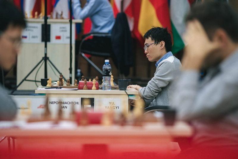 Coupe du monde d'échecs FIDE 2019 ronde 4 partie 2