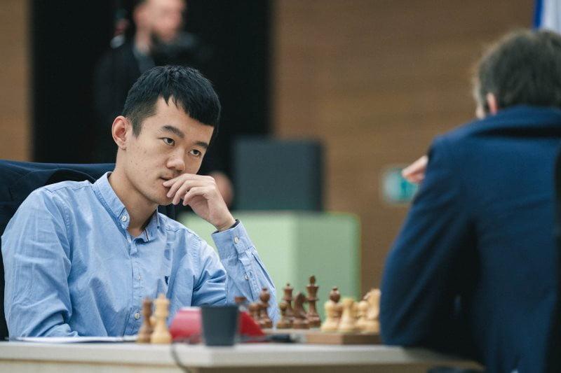 Coupe du Monde 2 échecs FIDE 2019 ronde 5 partie 1 Liren Ding