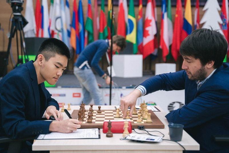 Coupe du Monde échecs FIDE 2019 ronde 5 partie 2 Xiong-Radjabov