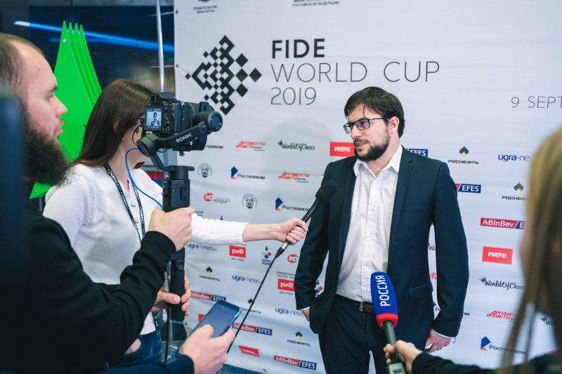 Coupe du Monde échecs FIDE 2019 ronde 6 départages Maxime Vachier-Lagrave