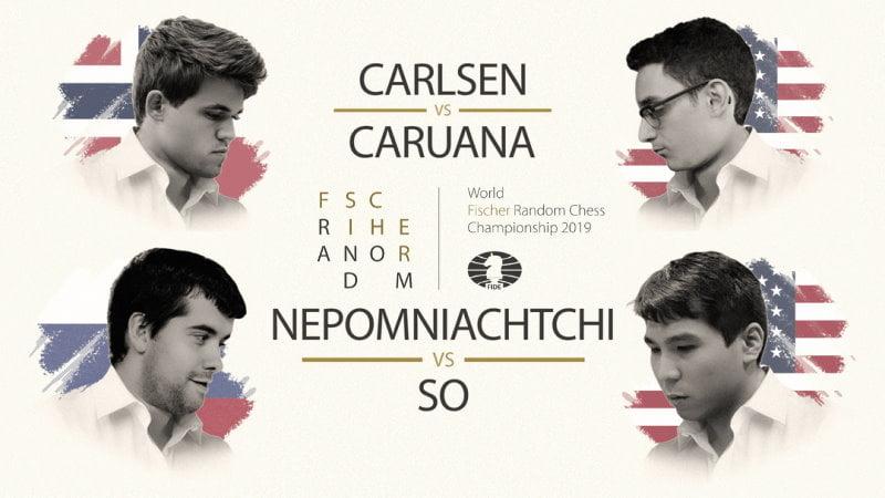Championnat du Monde d'échecs Fischer Random 2019