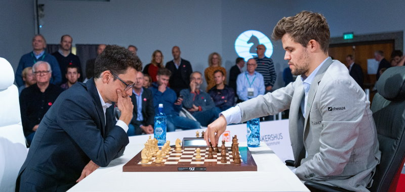 Championnat du Monde Fischer Random 2019 Caruana-Carlsen