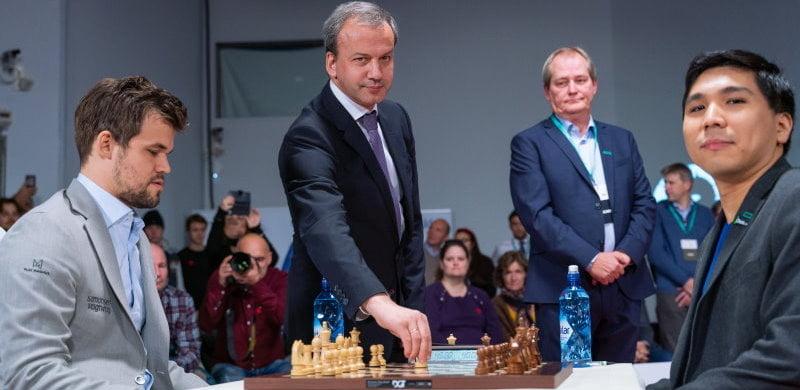 Championnat du Monde Fischer Random 2019 finale Carlsen-So