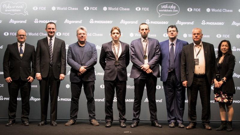Grand Prix FIDE 2019 Hambourg Alexander Grischuk vainqueur
