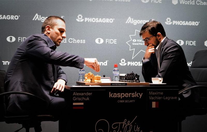 Grand Prix FIDE 2019 Hambourg Demi finale Vachier-Lagrave - Grischuk