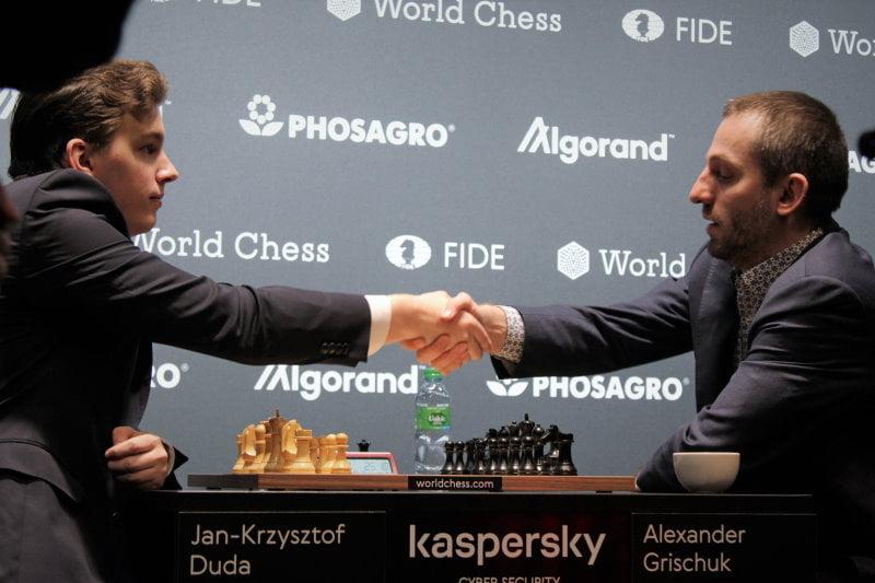 Grand Prix FIDE 2019 Hambourg finale Duda-Grischuk