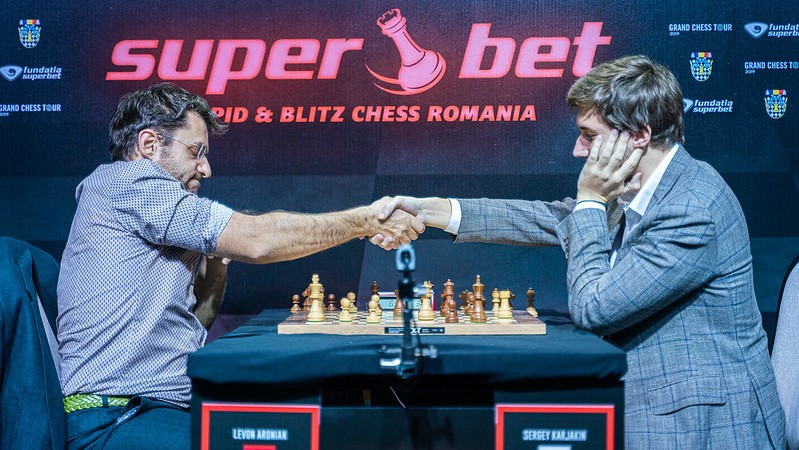 Superbet Rapid&Blitz 2019 (Grand Chess Tour) Levon Aronian