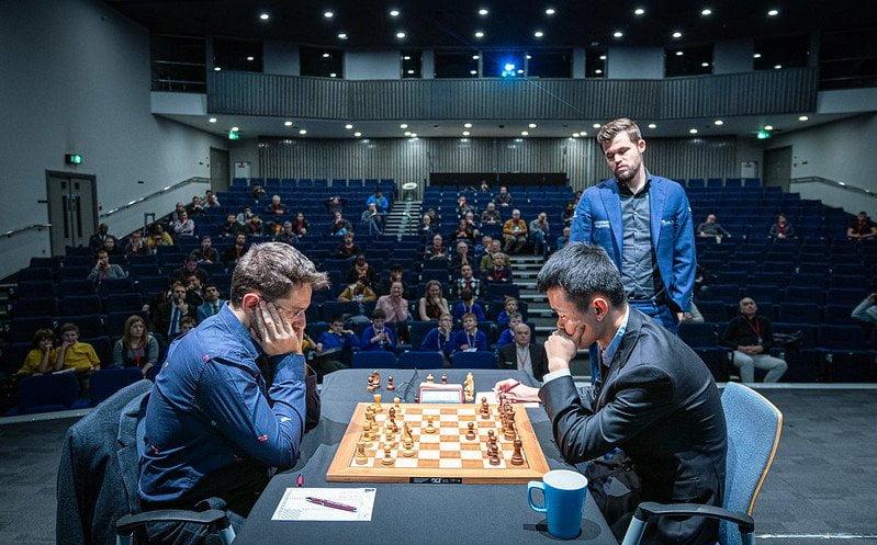 Demi finale Grand Chess Tour 2019 Levon Aronian - Liren Ding