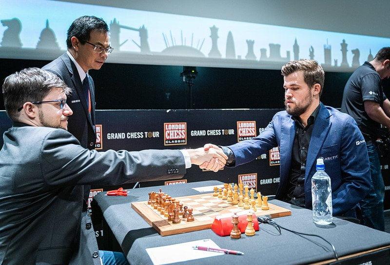 Demi finale Grand Chess Tour 2019 Magnus Carlsen - Maxime Vachier-Lagrave