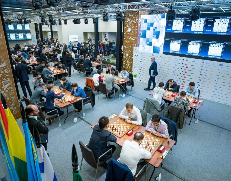 Championnat du Monde rapide 2019 Salle de jeu
