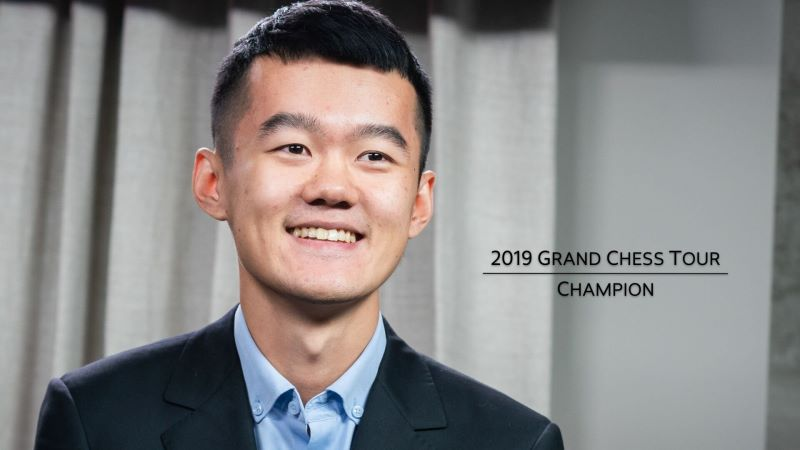 Liren Ding Champion Grand Chess Tour 2019
