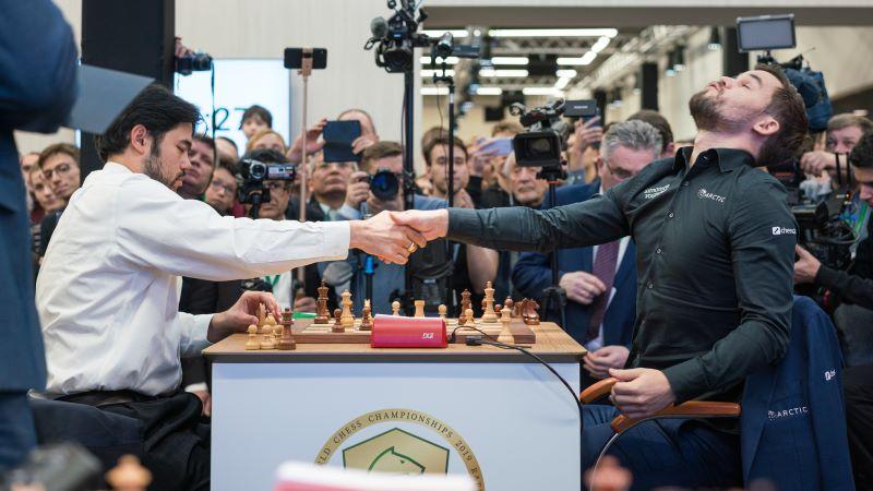 Magnus Carlsen Champion du Monde Blitz 2019