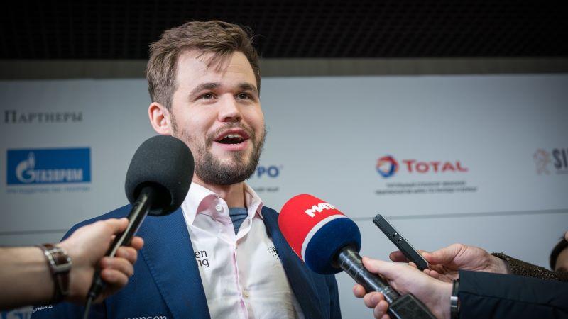 Magnus Carlsen Champion du Monde Rapide 2019