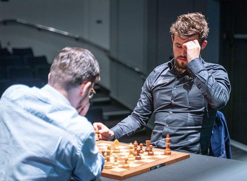 Magnus Carlsen demi-finale Grand Chess Tour 2019