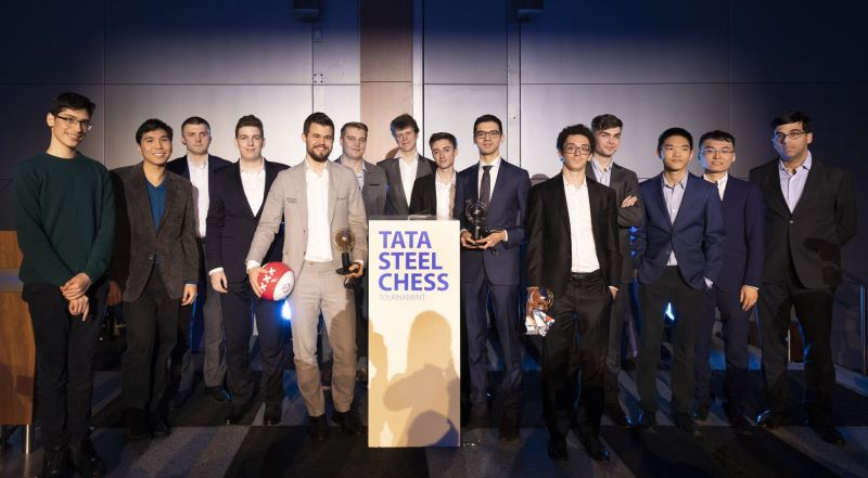 Tata Steel Chess 2020 participants