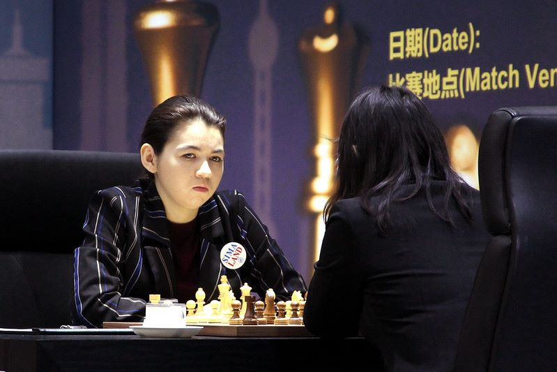 Championnat du Monde d'échecs féminin 2020 partie 1 Goryachkina