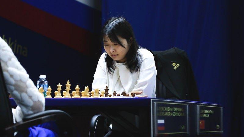 Championnat du Monde d'échecs féminin 2020 partie 10