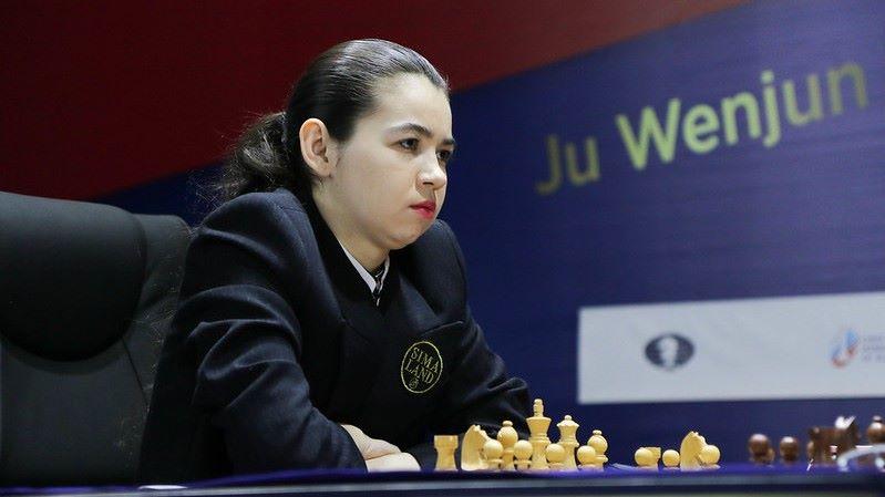 Championnat du Monde d'échecs féminin 2020 partie 12