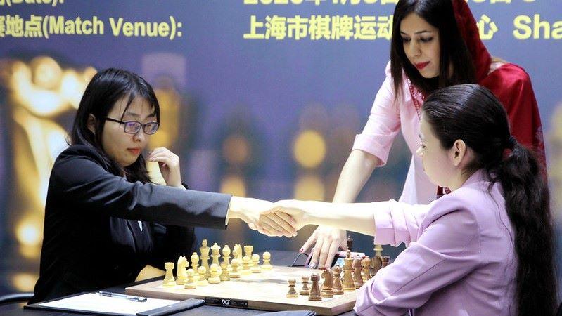 Championnat du Monde d'échecs féminin 2020 partie 2