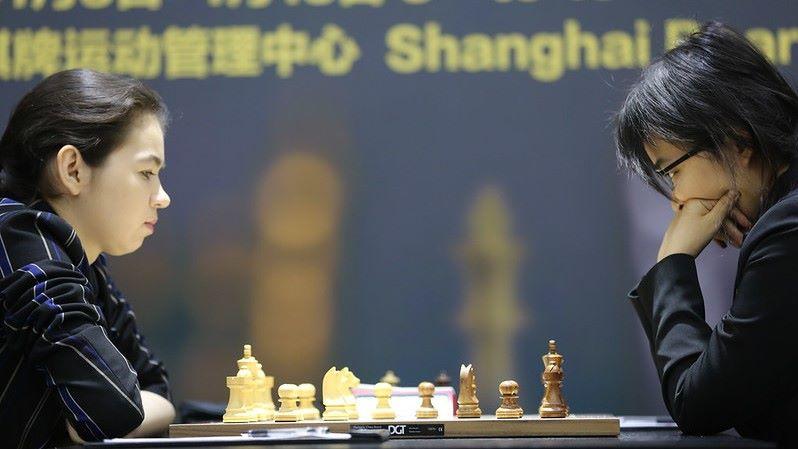 Championnat du Monde d'échecs féminin 2020 partie 3