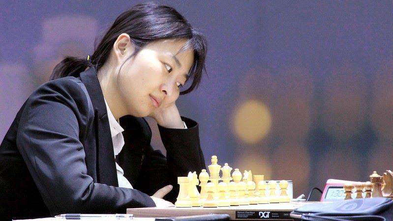 Championnat du Monde d'échecs féminin 2020 partie 4 Ju Wenjun