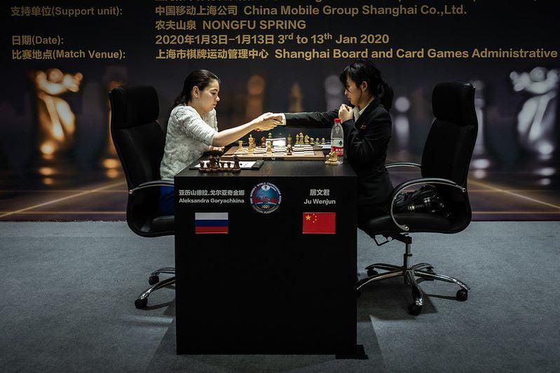 Championnat du Monde d'échecs féminin 2020 partie 5 fin