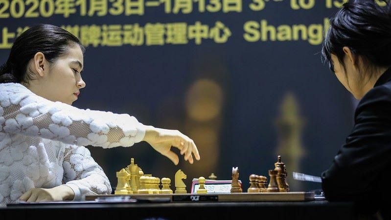 Championnat du Monde d'échecs féminin 2020 partie 5