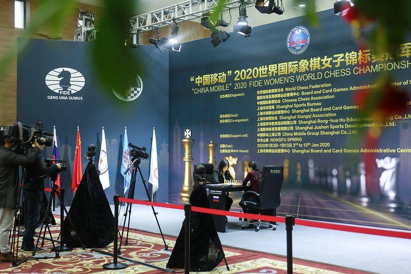 Championnat du Monde d'échecs féminin 2020 partie 6