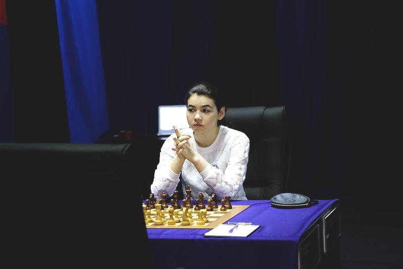Championnat du Monde d'échecs féminin 2020 partie 7 Goryachkina
