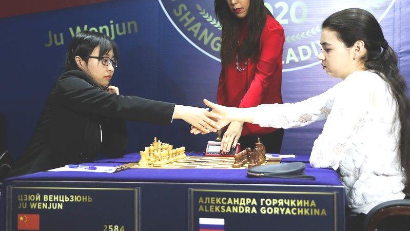 Championnat du Monde d'échecs féminin 2020 partie 7