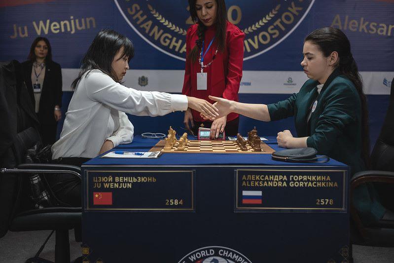 Championnat du Monde d'échecs féminin 2020 partie 9
