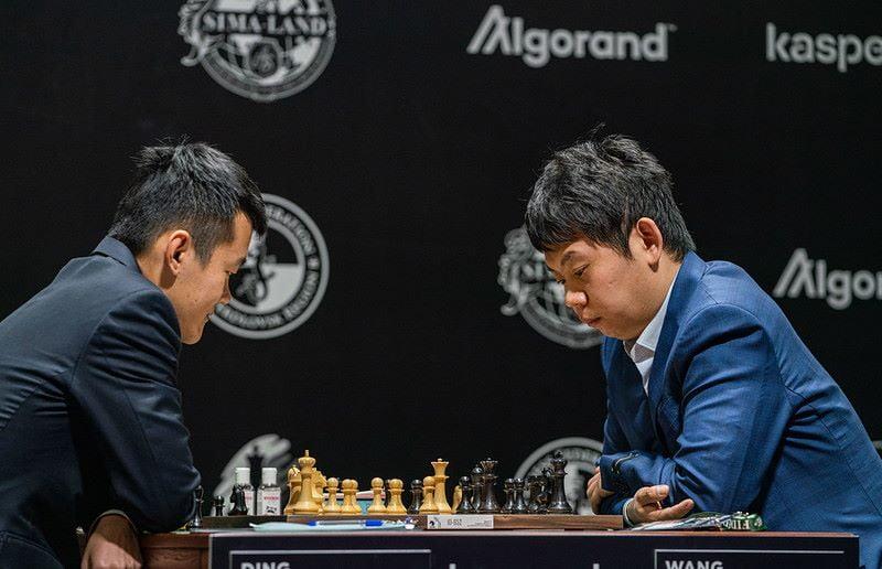 Tournoi des Candidats 2020 ronde 1 Ding-Wang