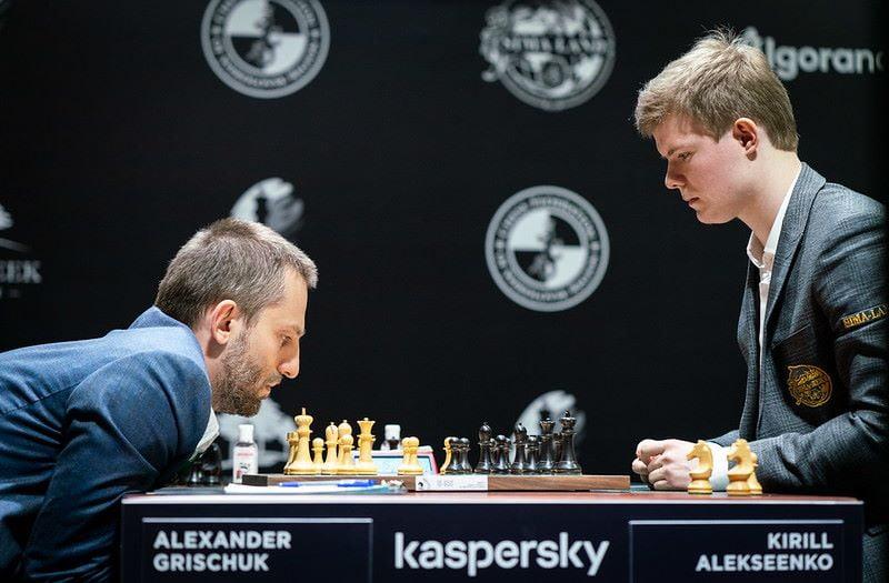Tournoi des Candidats 2020 ronde 1 Grischuk-Alekseenko