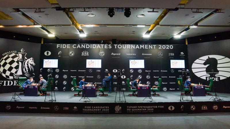 Tournoi des Candidats 2020 ronde 1