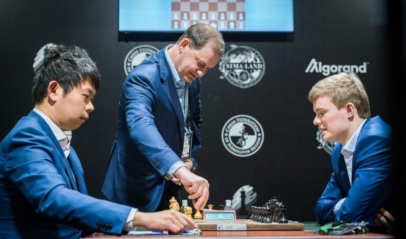 Tournoi des Candidats 2020 ronde 4 Wang-Alekseenko