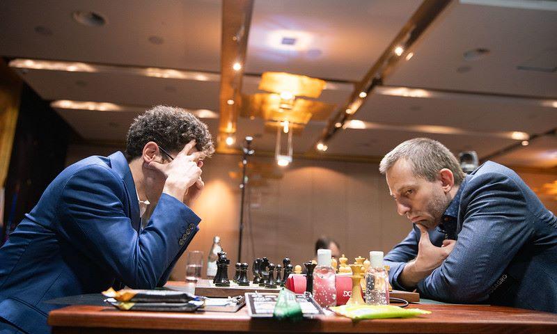 Tournoi des Candidats 2020 ronde 6 Grischuk-Caruana