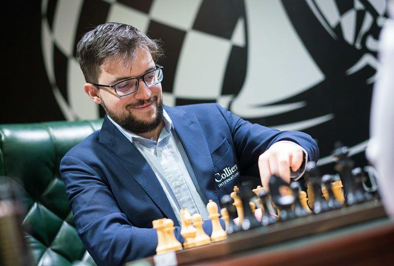 Tournoi des Candidats ronde 2 Maxime Vachier-Lagrave